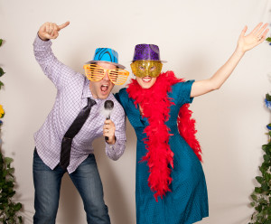 10th anniversary photo booth